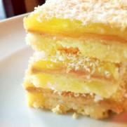 Lemon bars - so pretty!