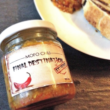 Final Destination by Mofo Chili, $10 a jar at Kranji Countryside Farmers Market