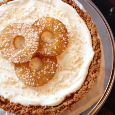 Pineapple Cheesecake with Coconut Cream and Roasted Pineapple, $60 (with delivery within Singapore); $50 (self pick-up)