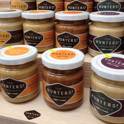 Nut butters by The Hunter's Kitchenette. Bought a jar of its Pistachio Butter.