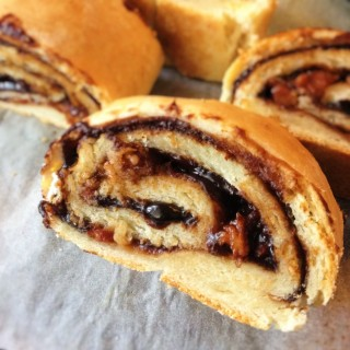 Vegemite and Bacon Pie Roll, $8 (self collect). Each roll yields 6 pieces.