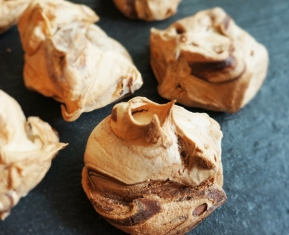 Nutella Meringue Cookies. $15 for 12 (self collect)