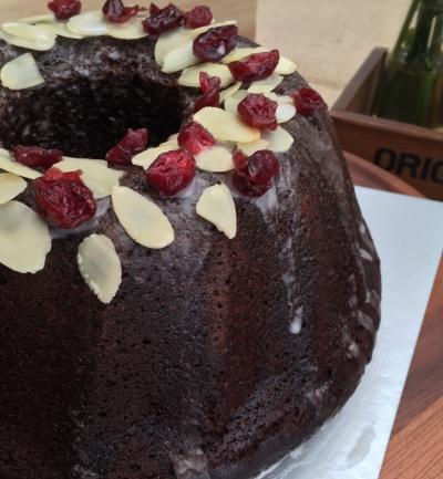 Whisky Chocolate Bundt Cake