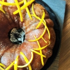 Cointreau Bundt Cake with Nutella Swirls, $68 (self-collection)